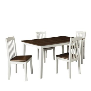 Dawson 5 Piece Dining Set August Grove
