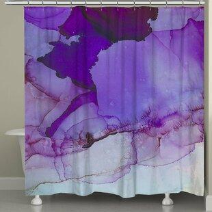 Ivy Bronx Gresham Palace Luminescent Jewel Tones Shower Curtain
