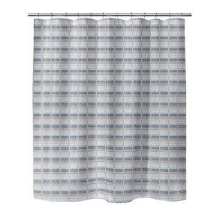 Wrought Studio Leath Shower Curtain