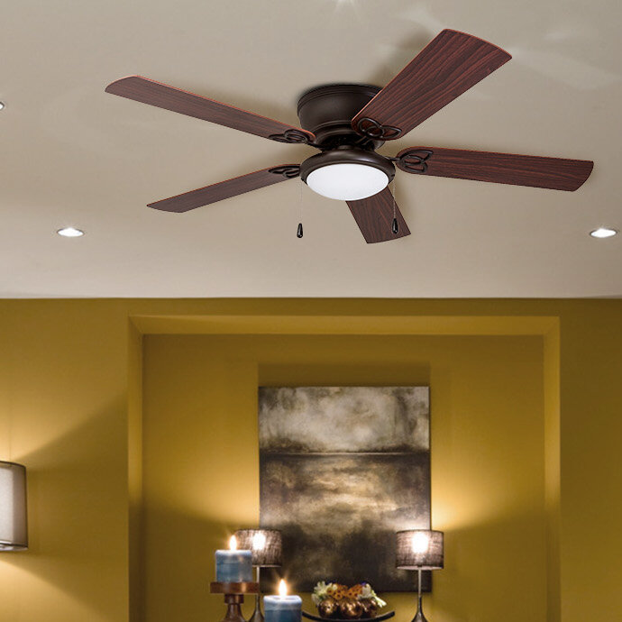 52 Mattias 5 Blade Ceiling Fan With
