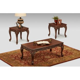 Petterson 3 Piece Coffee Table Set by Astoria Grand