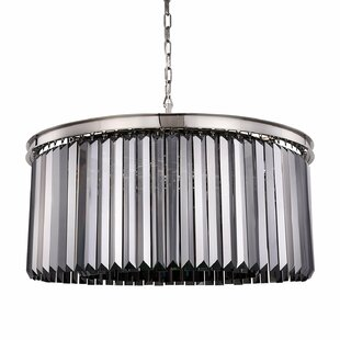 Gettys 8-Light Crystal Chandelier by Everly Quinn