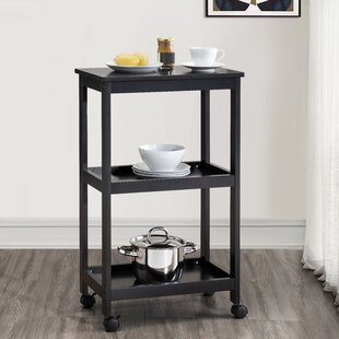 Ergenekon 3 Tier Modernized Kitchen Cart