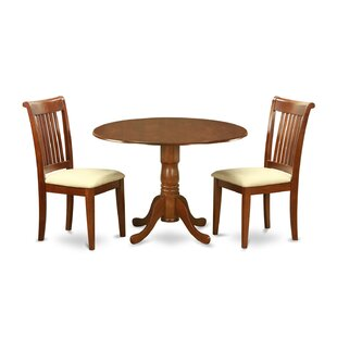 Spruill 3 Piece Dining Set by August Grove Read Reviews