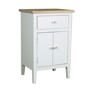 Afternoon Farmhouse 1 Drawer Accent Cabinet ByPorthos Home