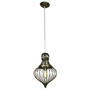 Lawncrest Mini Pendant by Bungalow Rose