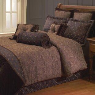 opulent design cream bedding. Opulent Paisley Comforter Set Copper Bedding  Wayfair