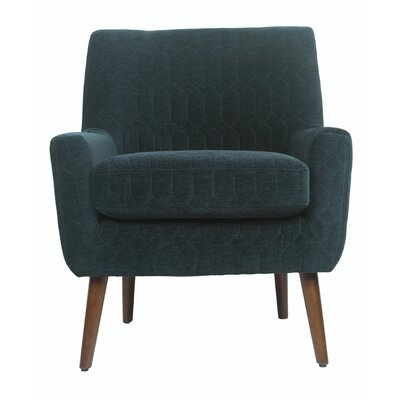 Fred Armchair Corrigan Studio Upholstery Color Navy Solid