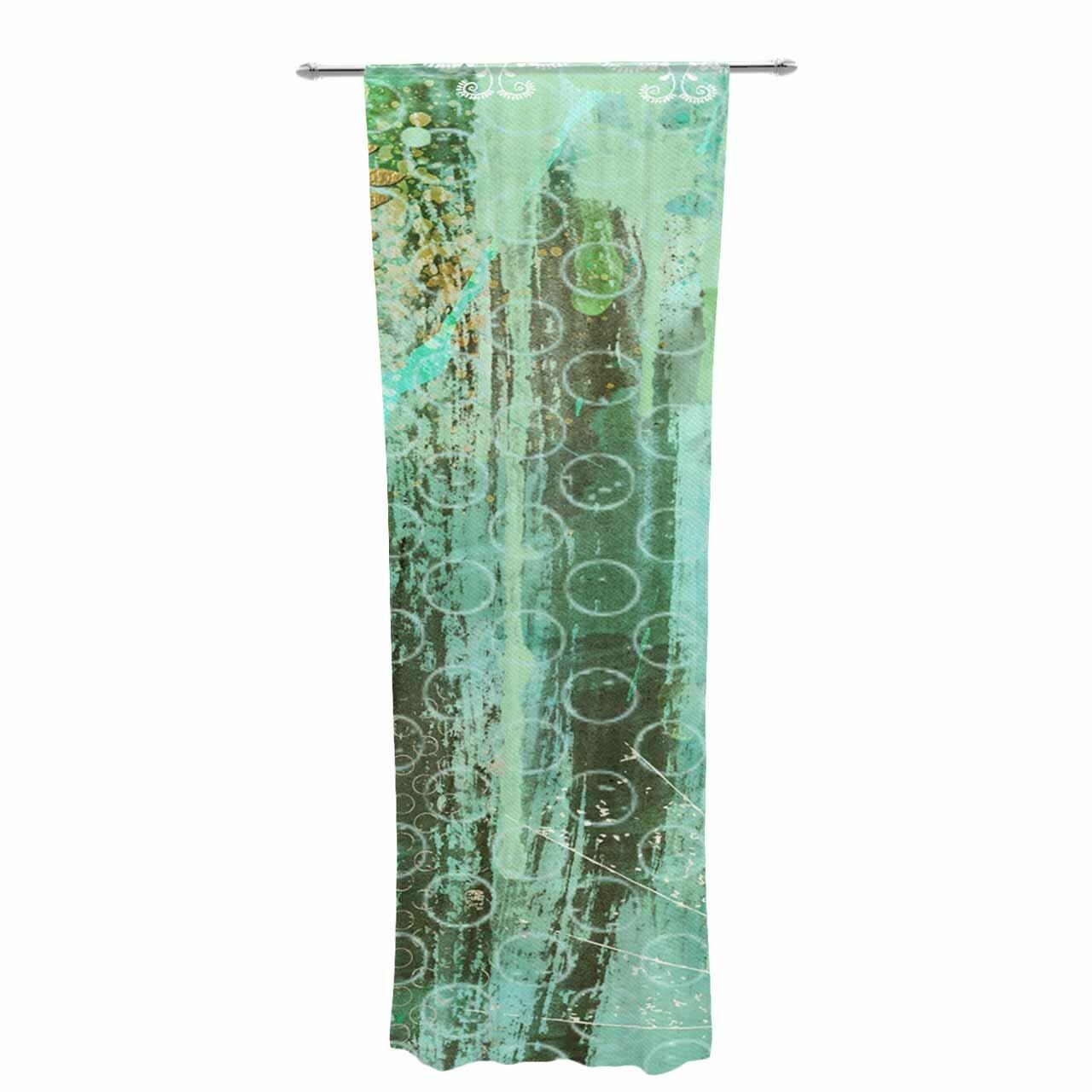 69 x 70 Shower Curtain Kess InHouse Stephanie Vaeth Under The Sea Blue Yellow Illustration