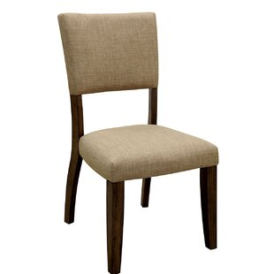 Cecere Upholstered Dining Chair (Set of 2) Loon Peak