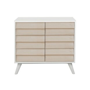 Mcqueary Louvered 2 Door Accent Cabinet by Wrought Studio