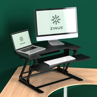 Bellavia Corner Height Adjustable Standing Desk By Brayden Studio