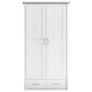 Yalaha 2 Door Wardrobe By Beachcrest Home
