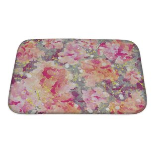 Art Primo Watercolor Flower Bath Rug