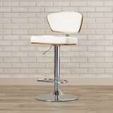 Culpepper Adjustable Height Swivel Bar Stool by Brayden Studio®