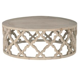Affordable Price Quill Wooden Coffee Table By Bungalow Rose