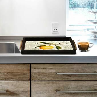 Gracie Oaks Cassady 2 Piece Coffee Table Tray Set Wayfair