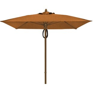 Prestige 7.5' Square Market Umbrella by Fiberbuilt