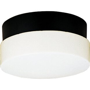 Affordable Pace 2-Light Metal Flush Mount By Latitude Run