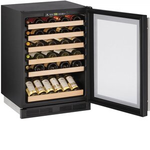 24 Bottle 1000 Series Single Zone Built-in Wine Cellar by U-Line