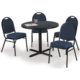 5 Piece Dining Set by KFI Seating No Copoun