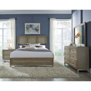 Gracie Oaks Gwyneth Panel Bed