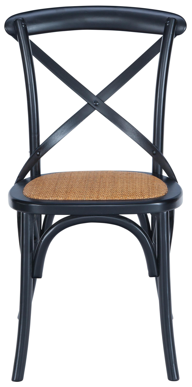 Gracie Oaks Doncaster Crossback Dining Chair \u0026 Reviews | Wayfair