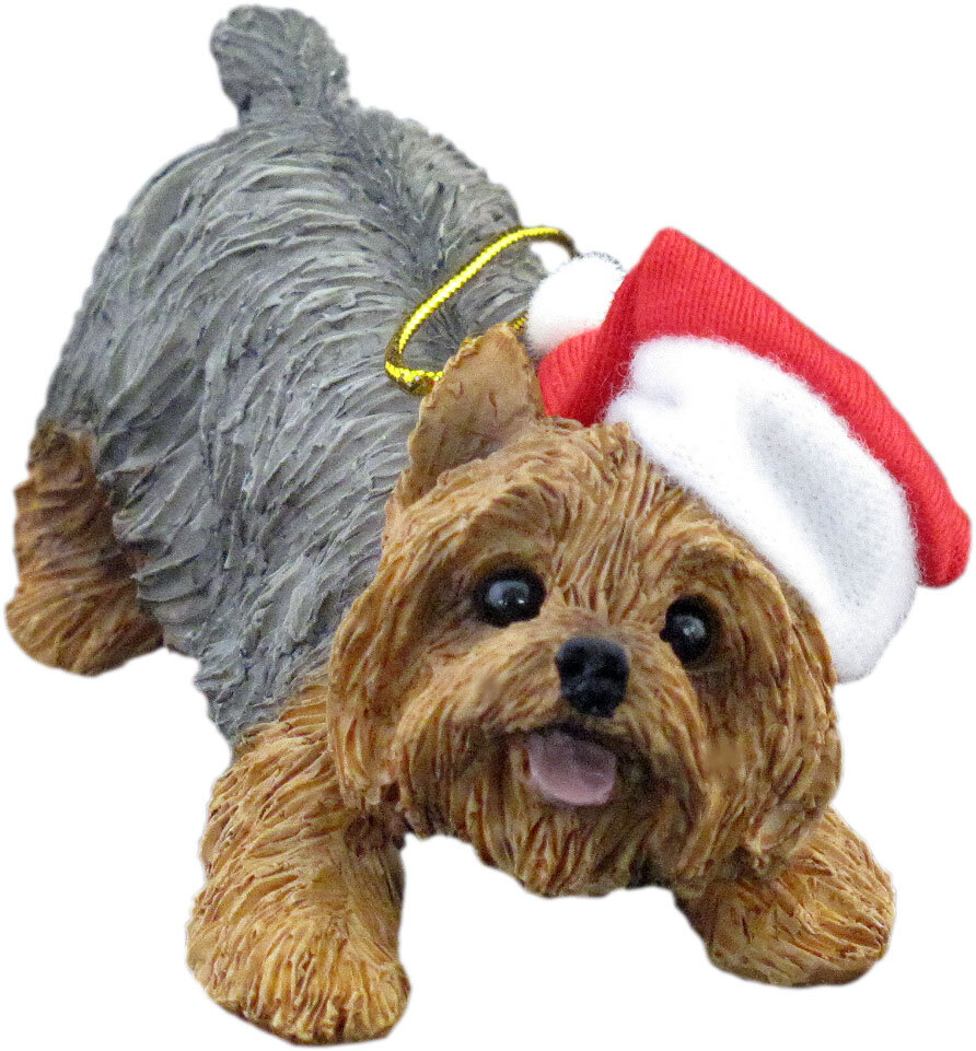 Sandicast Crouching Yorkshire Terrier Christmas Ornament Reviews