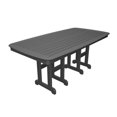 Yacht Club Rectangular 29 Inch Table by Trex Outdoor New