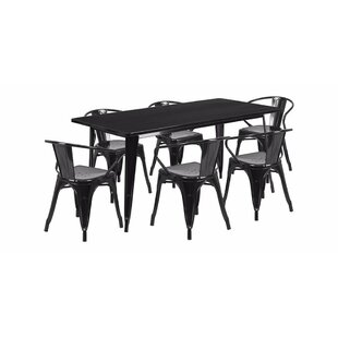 Best Reviews Fifi Trixibelle Kids 7 Piece Writing Table and Chair Set ByMack & Milo