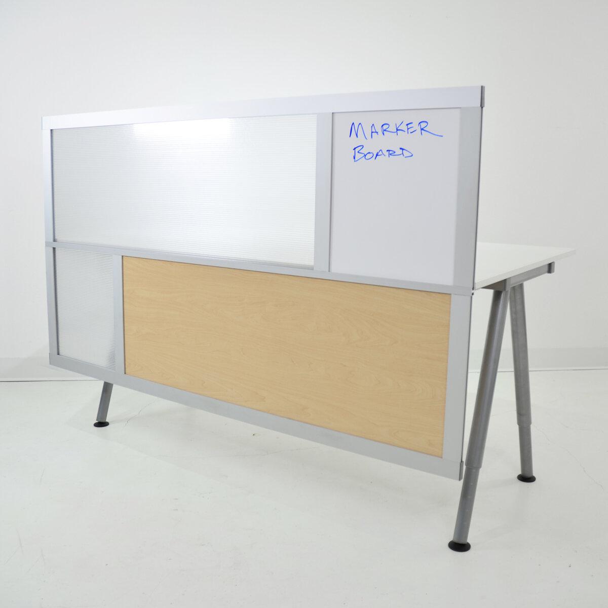 LOFTwall 6u0027 Privacy U0026 Modesty Desk Divider   Wayfair