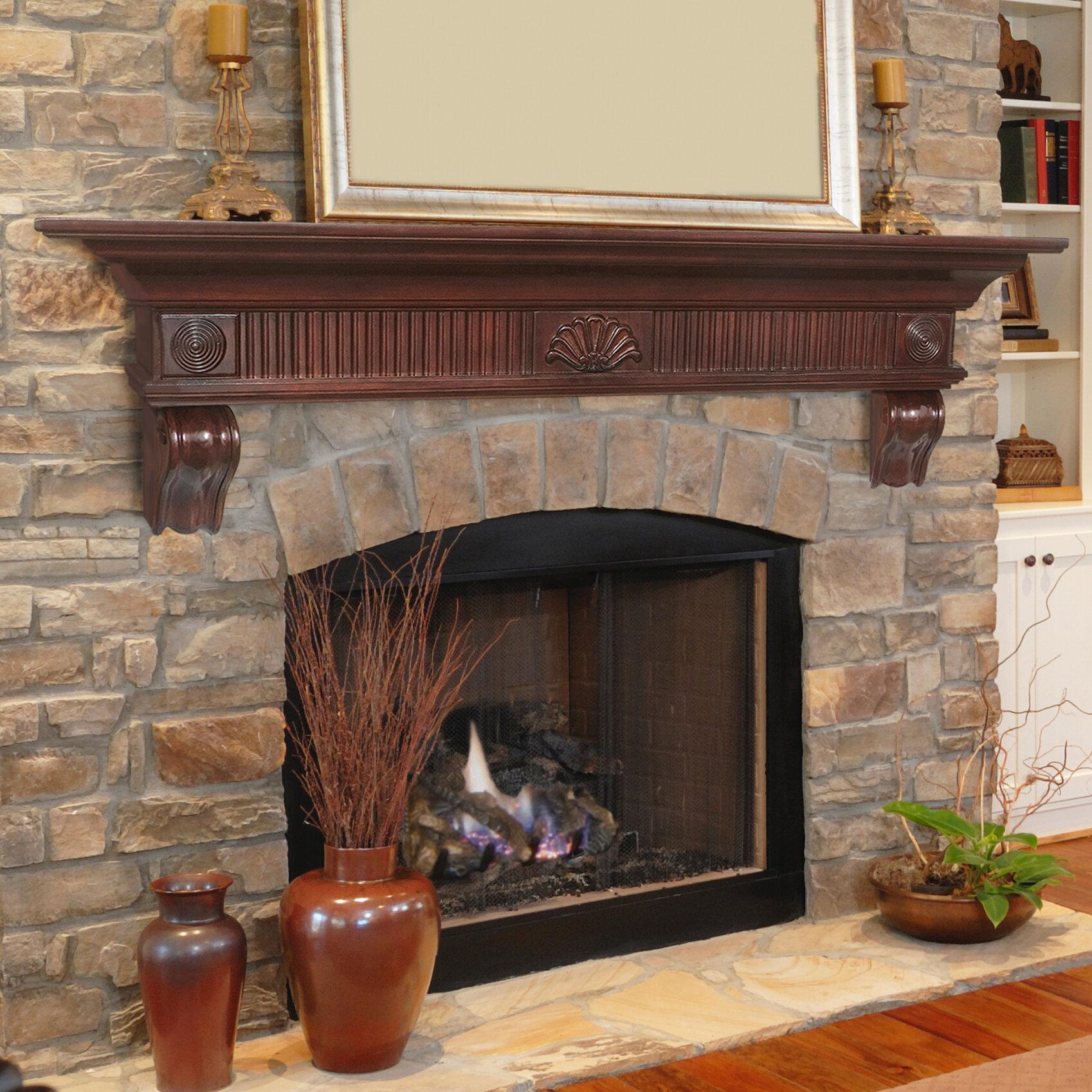Swell The Devonshire Fireplace Shelf Mantel Home Interior And Landscaping Ponolsignezvosmurscom