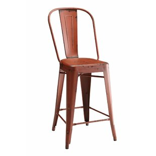 Lepley Metal Bar Stool (Set of 2) by 17 Stories