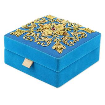 Bloomsbury Market Mcglothlin Handmade Royal Gilded Porcelain Decorative Box Wayfair
