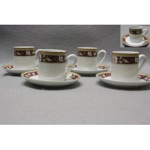 Croxton 8 Piece Espresso Cup Set