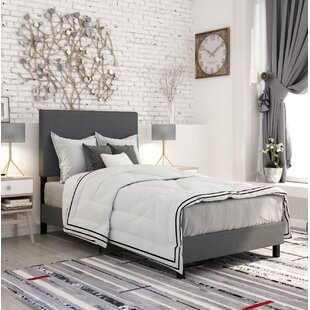 Cowell Upholstered Panel Bed by Turn on the Brights