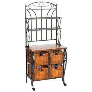 Red Barrel Studio Lineage Steel Baker's Rack