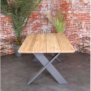 Emmaleigh Metal Dining Table By Sol 72 Outdoor