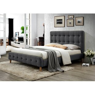 Gainey Queen Upholstered Platform Bed by Ivy Bronx