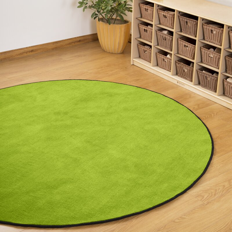 Isabelle Max Emberly Green Area Rug Wayfair