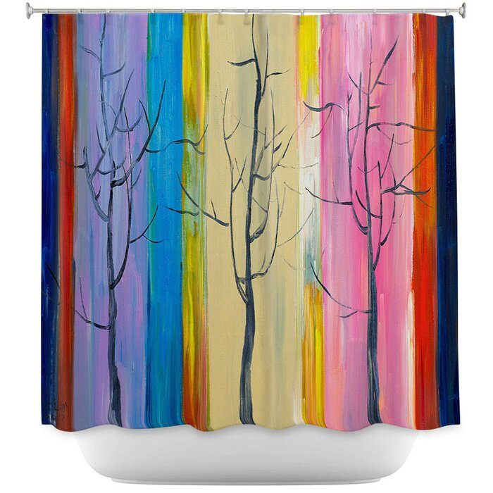 DiaNoche Shower Curtains By Lam Fuk Tim