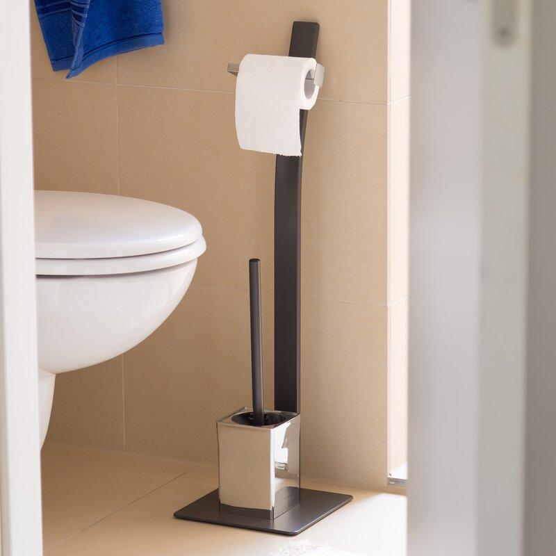 Freistehendes Toilettenbürsten Set Grao