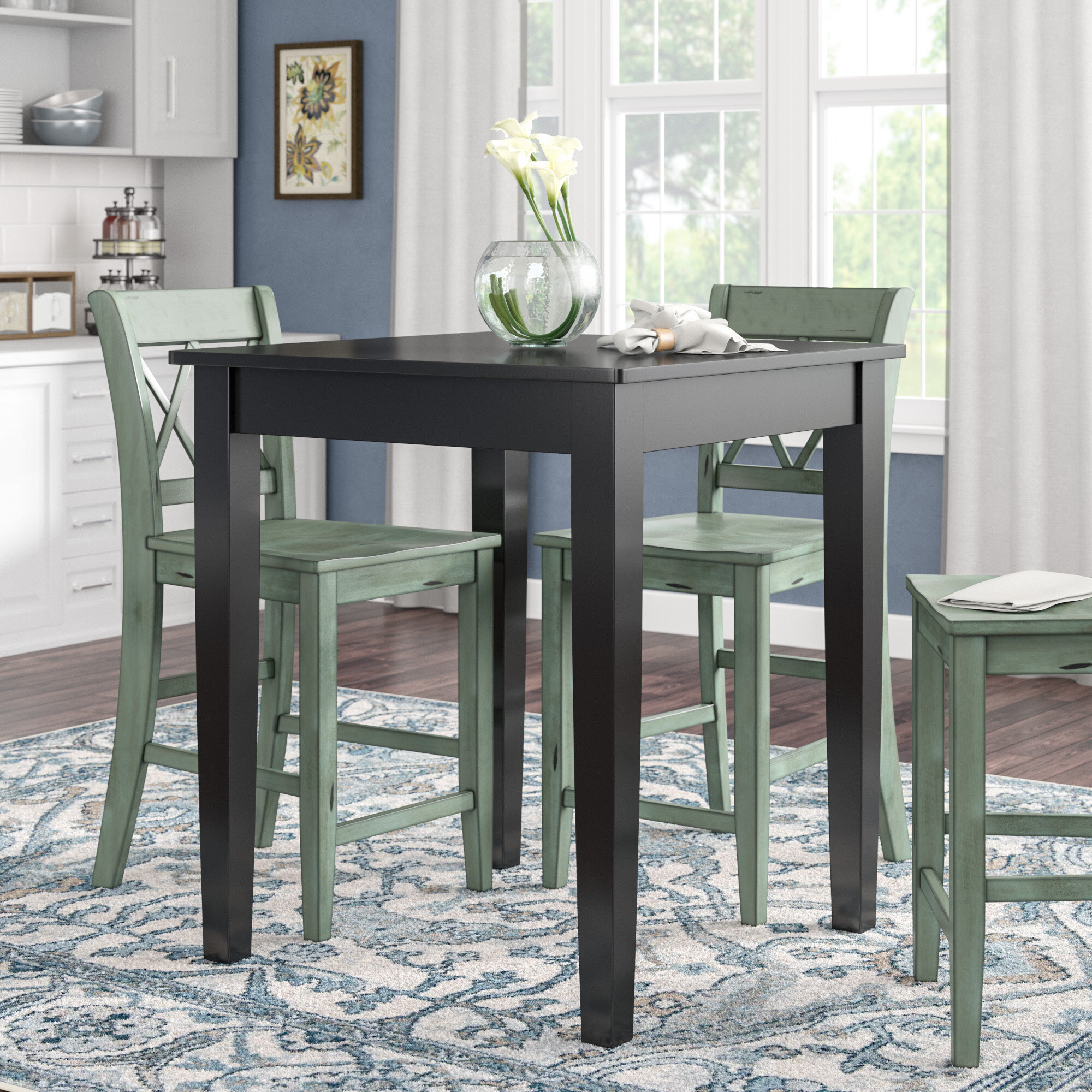 Square Tall Kitchen Dining Tables You Ll Love In 2021 Wayfair