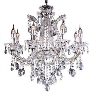 House of Hampton Almandine 8-Light Candle Style Chandelier