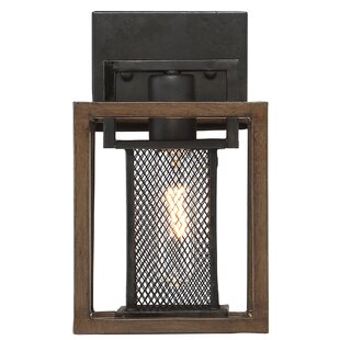 Minor 1-Light Bath Sconce by Union Rustic