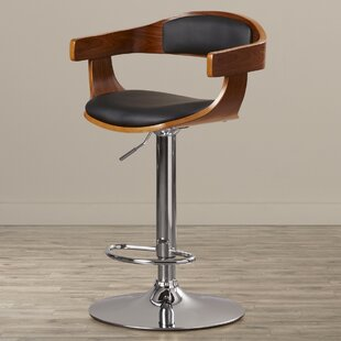 Elida Adjustable Height Swivel Bar Stool