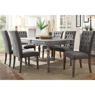 Demers 7 Pieces Dining Set by Gracie Oaks