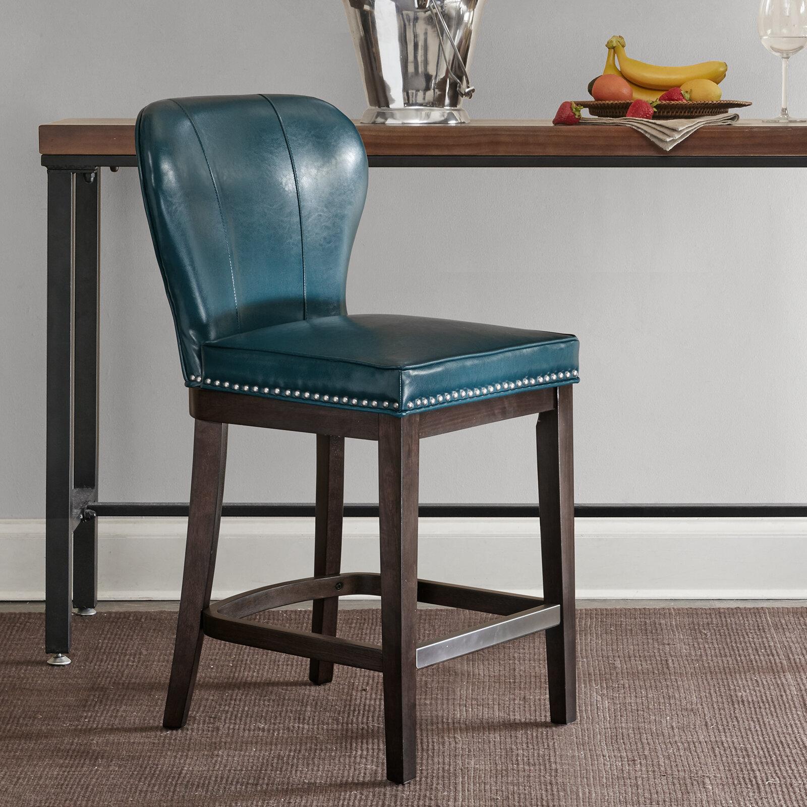Enjoyable Darby Home Co Zhora 26 Bar Stool Reviews Wayfair Machost Co Dining Chair Design Ideas Machostcouk