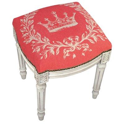 Cool Lark Manor Clematite Coral Crown Linen Upholstered Vanity Machost Co Dining Chair Design Ideas Machostcouk