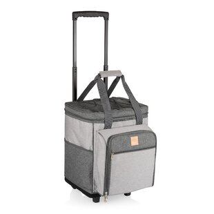 8aec49368205e2 Rolling Insulated Picnic Cooler